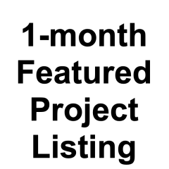 1-month Featured Project Listing