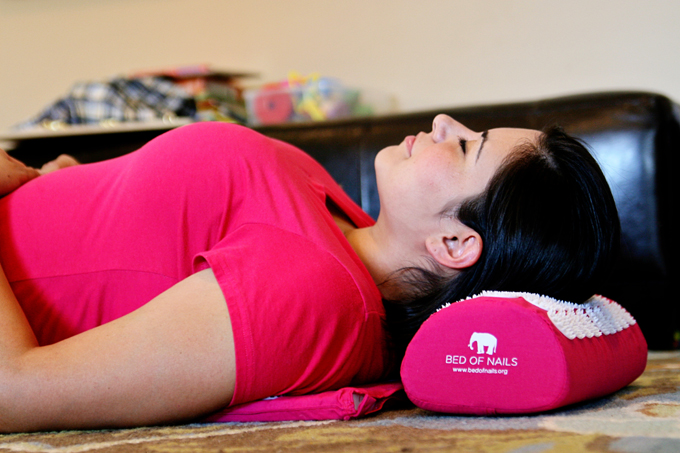giveaway bed of nails acupressure pillow mat see vanessa craft