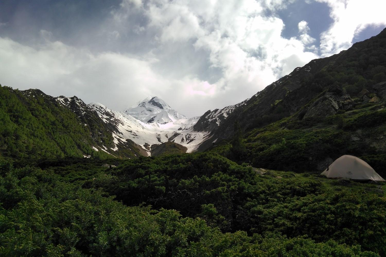 Rakaposhi Base Camp (Tagafari)-Minapin Glacier-Diran Base Camp (Kacheli)-Kacheli Lake