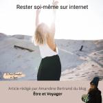 Rester soi-même sur internet