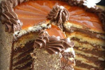 Dobos torta Séfbabér