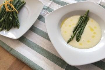 Spárga leves