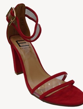 Women's  high heel shoes-Red.