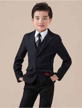 Kids stylish suits-Black