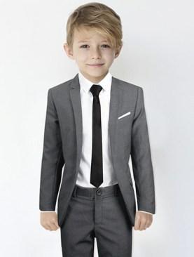 Kids designer suits-Grey.