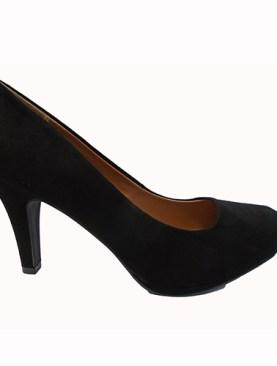 Women's high heel shoes-Black.
