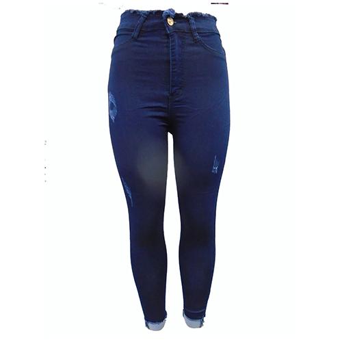 7e76cab59d2 Women s classy denim jeans-Blue.