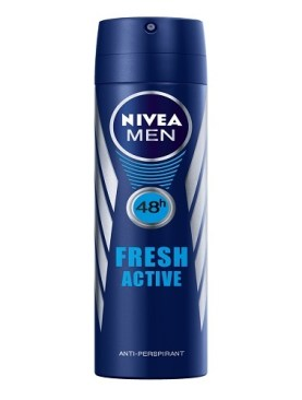 Nivea fresh active antiperspirant body spray-250ml