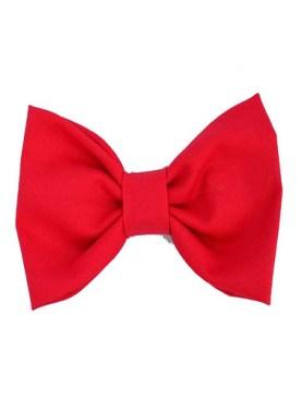 Men's designer bow tie-Red.