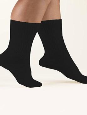 Men's pure cotton socks-Black.