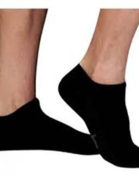 Men's ankle socks-Black.