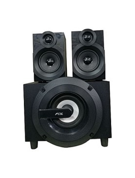 FQL 2.1 speakers with bluetooth,radio,usb,memory card,and remote control.