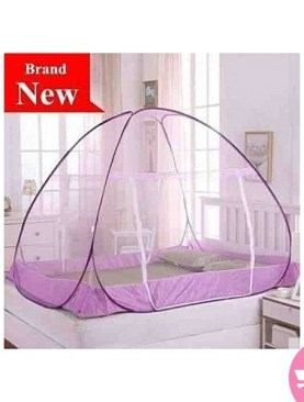 purple classy mosquito net-5x6