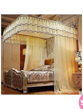 cream mosquito net-5x6