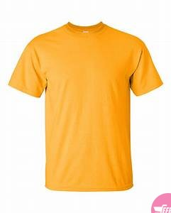 Mens plain cotton tshirts-Yellow