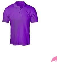 Men s round neck t shirts-Purple.