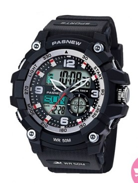 Men's classy waterproof watch-Black.