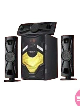 3.1 channel global star sound system-Black.