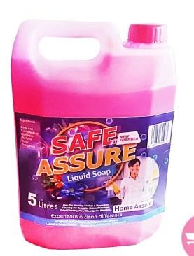Safe Assure Liquid Soap - 5 Litres