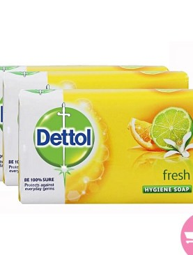 Dettol Value Pack Of 3 Fresh - 175g