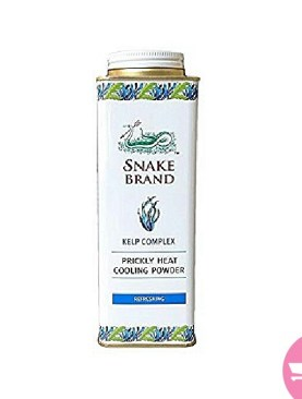 Prickly heat cooling powder snake brand