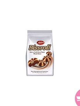 Aldiva Bissroll Mosaic Biscuit With Cocoa And Hazelnut Cream - 100 g