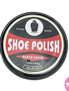 Black Eagle Shoe Polish 80g - Black