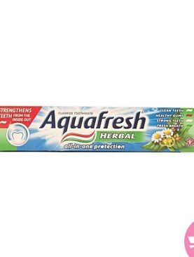 Aquafresh herbal toothpaste