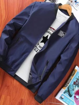 Men quality jackets-blue