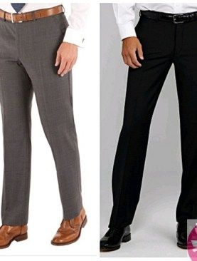 2 pack men's official trousers