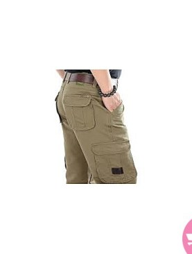 Tour pants for men -green