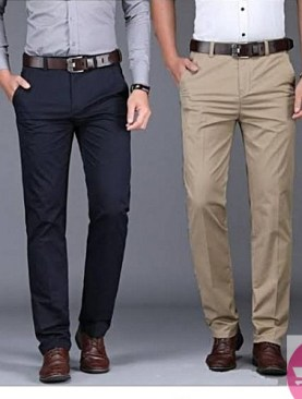 Men's 2 pack trousers