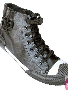 Men's ankle all stars- black and white