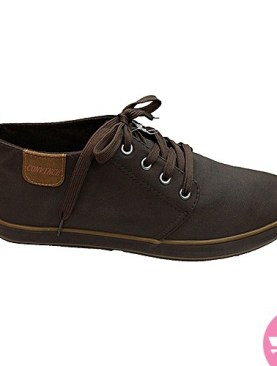 Men's simple causal shoes- coffee brown