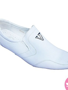 Men's snow mocassin shoes - white