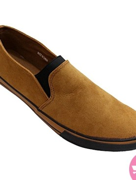 Men's casual shoes - brown