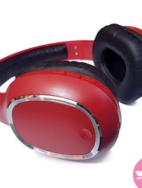 YS-BT9957 Universal Wireless Headphone With TF Card Support - Red