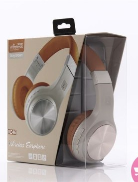 KD46 Wireless Bass Headphone WithTF SD Memory Card function - Multi-Color