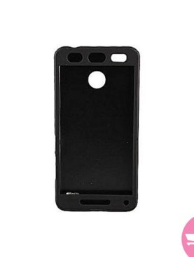Silicone Rubber Finish Soft Case For Spark K7 - Black
