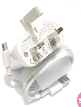 Huawei HW-05900EHQ Wall Charger & USB Cable - White