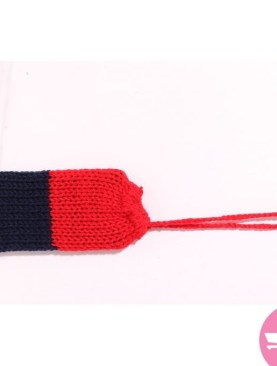 Phone Bags With Strings - Red And Navy Blue