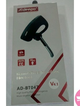 Aldeepo Handsfree Bluetooth AD-BT047 - Black