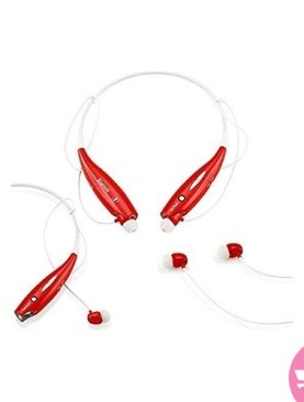 HBS-730 Stereo Headset - Red, White
