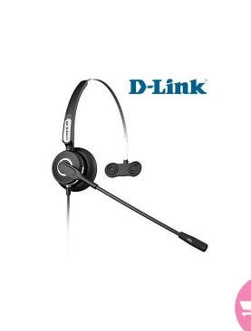 D-Link DPH-100 - Reception Operator Headsets - Black