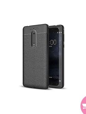 Shockproof Back Cover Case for Nokia 6 - Black