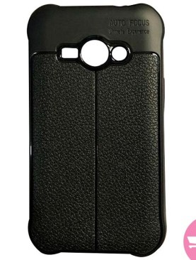 Back Cover Case For Galaxy J1 2016 J110 - Black