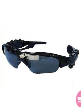 Sunshade Original Bluetooth Sun Glasses Heaphones - Black