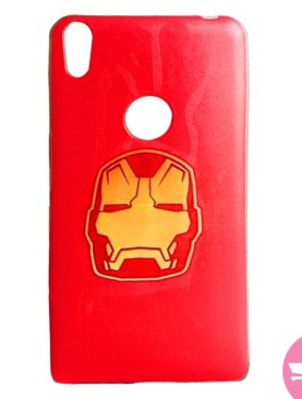 Iron Man Soft Back Case for Tecno Camon-CX - Red