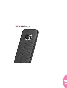 Auto Focus Back Case For Samsung S7 Edge - Black Brand: Cover