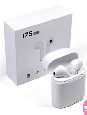 i7s Twins Wireless Headsets - White